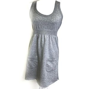 Victoria Secret Pink Gray Pocket Casual Dress